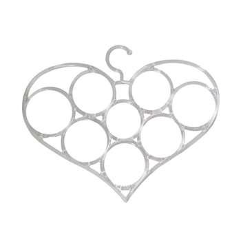 آویز شال و روسری طرح قلب کد b4