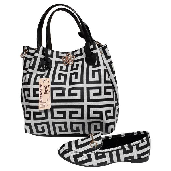 ست کیف و کفش زنانه کد ۱۱۰۱۱