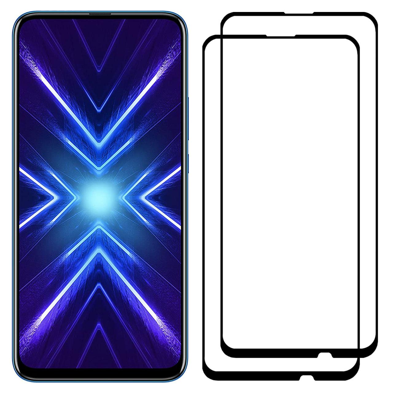 محافظ صفحه نمایش مدل FCG مناسب برای گوشی موبایل آنر 9X بسته دو عددی