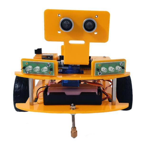 کیت آموزشی مدل ربات هوشمند مانع گریز الکسازشاپ