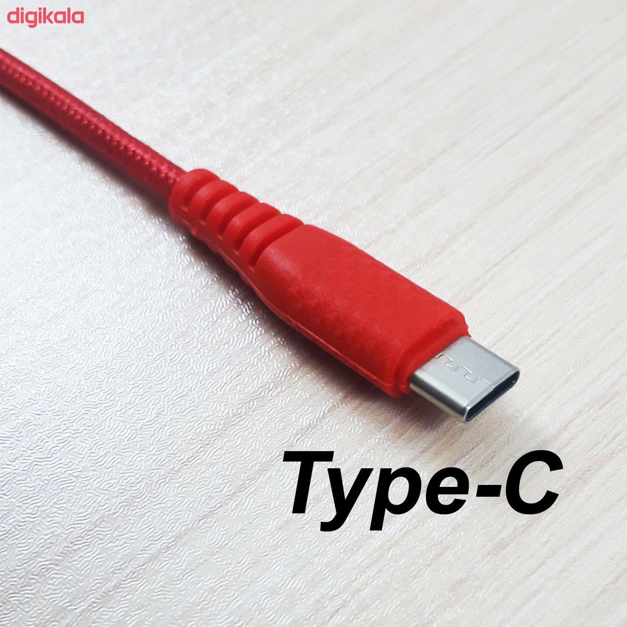 کابل تبدیل USB به USB-C بیاند مدل BA-306 طول 1 متر main 1 1