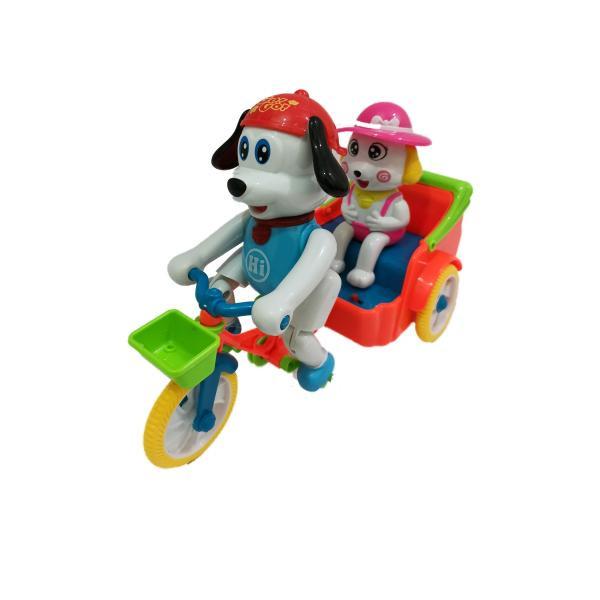 بازی آموزشیمدل سگ نگهبان سه چرخه سوار کد M52