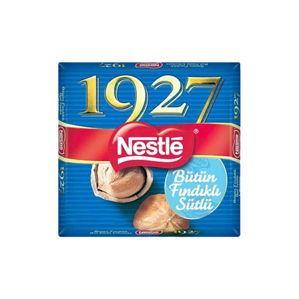 شکلات تخته ای شیری 1927 نستله با تکه های فندق - 76 گرم