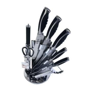 سرویس چاقو آشپزخانه 9 پارچه ام جی اس مدل KS9015B
