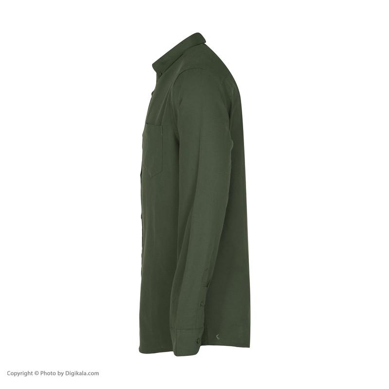 پیراهن مردانه کالینز مدل CL1035946-KHAKI