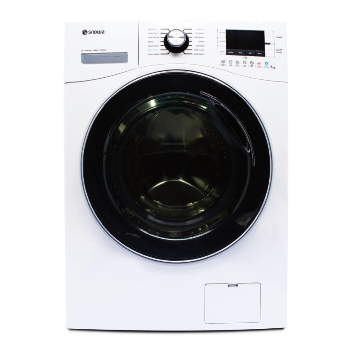 ماشین لباسشویی اسنوا مدل SWM-84506ظرفیت 8 کیلوگرم