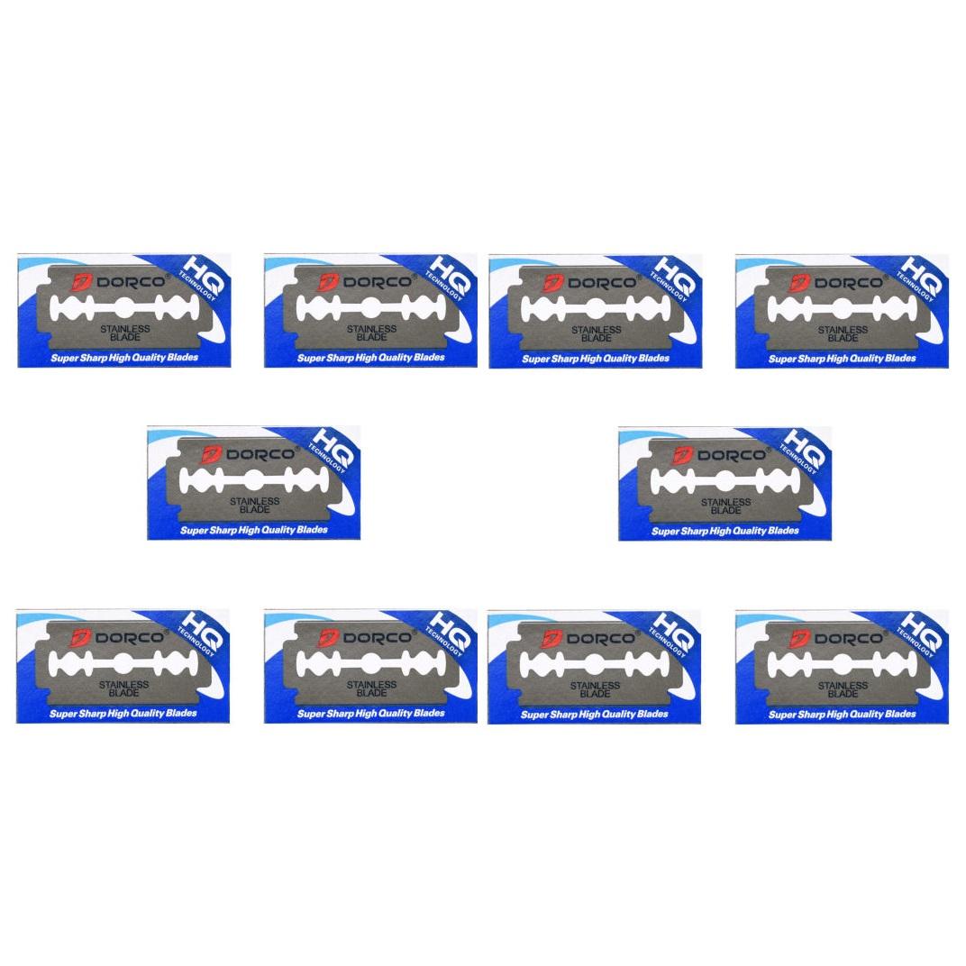 تیغ یدک دورکو مدل HQ-10 مجموعه 10 عددی