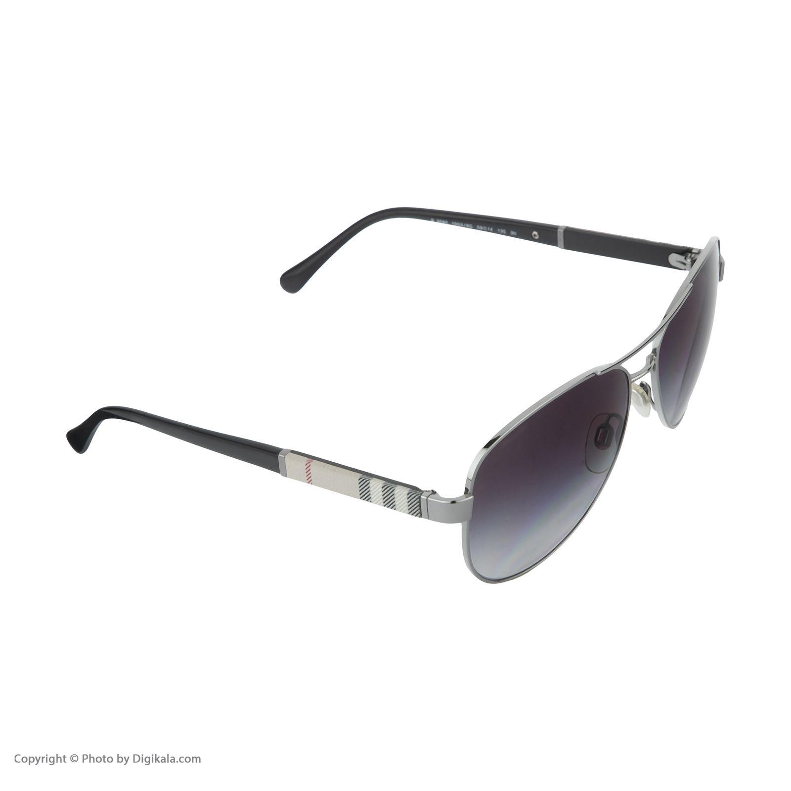 عینک آفتابی مردانه بربری مدل BE 3080S 10038G 59 -  - 4