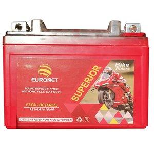 باتری موتورسیکلت یورونت مدل YTX4L