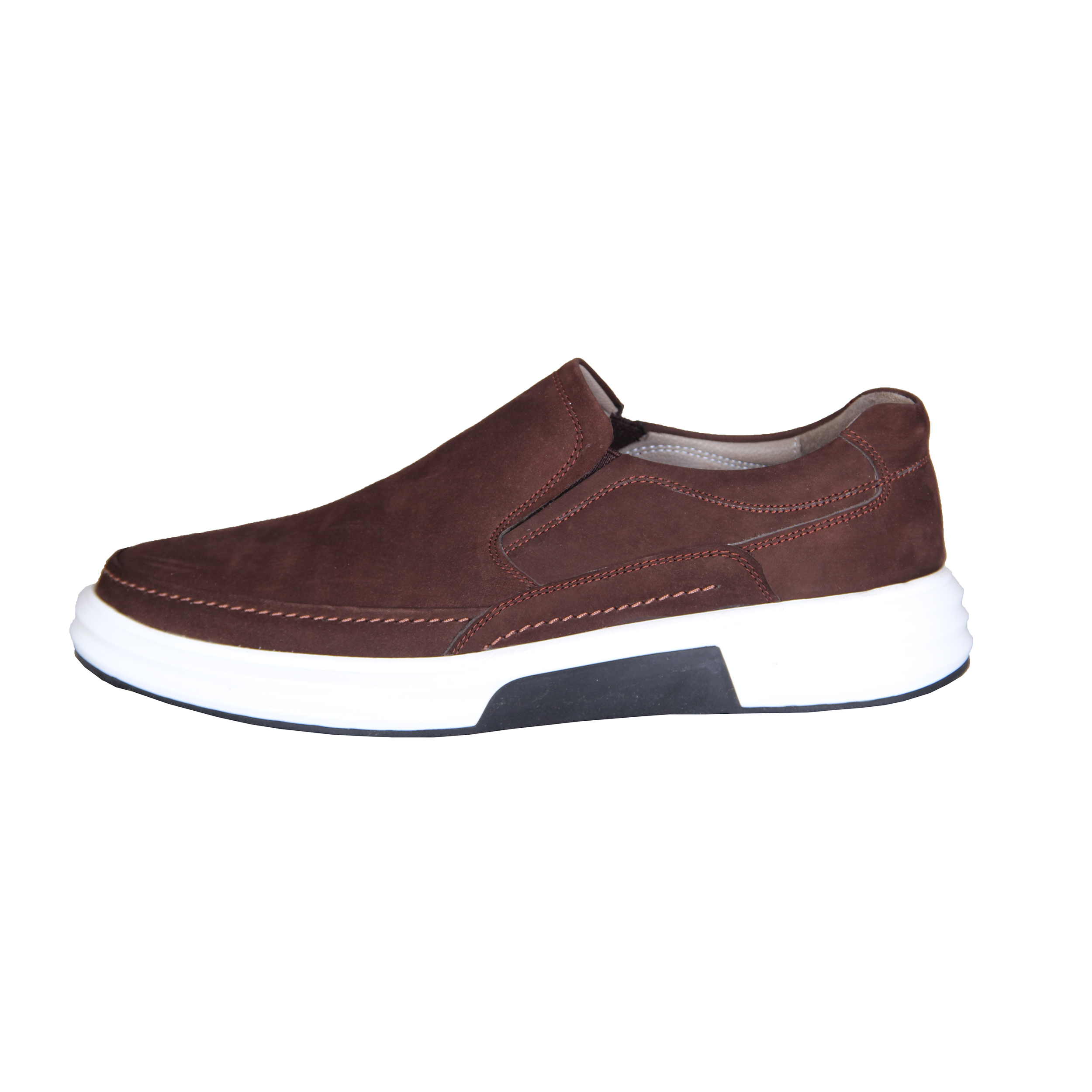 SHAHRECHARM leather men's casual shoes , F6046-3 Model