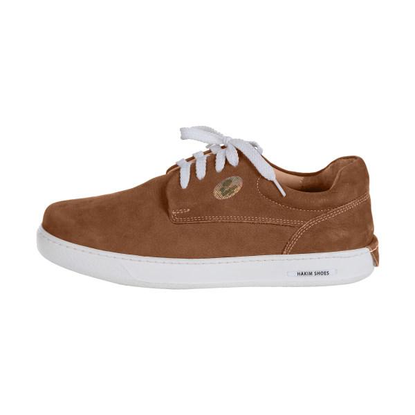 کفش روزمره هوشمند زنانه حکیم مدل T5 رنگ عسلی