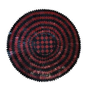 فرش پوست مدل فرش چرم آدوا کد ۰۱
