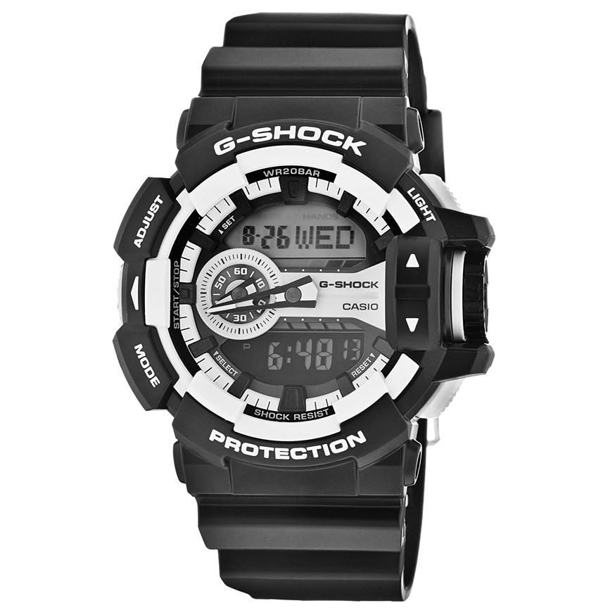 ساعت مچی عقربه ای مردانه کاسیو مدل جی شاک کد GA-400-1A