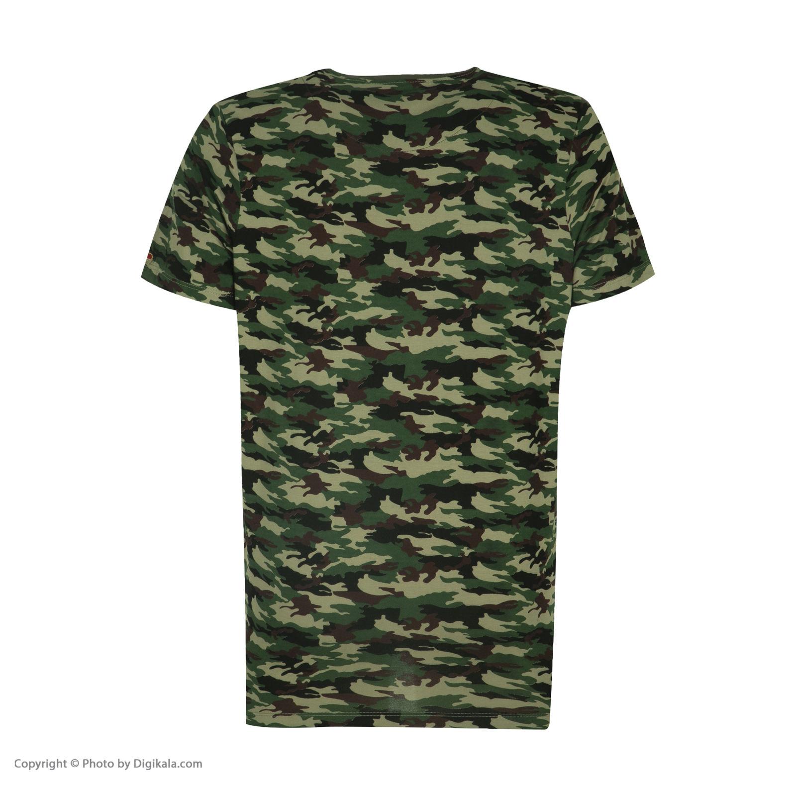 ست تی شرت و شلوارک راحتی مردانه مادر مدل 2041108-49 -  - 6