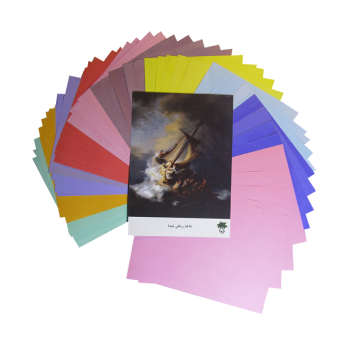 کاغذ رنگی A4 تیما مدل Rembrandt1 بسته 50 عددی