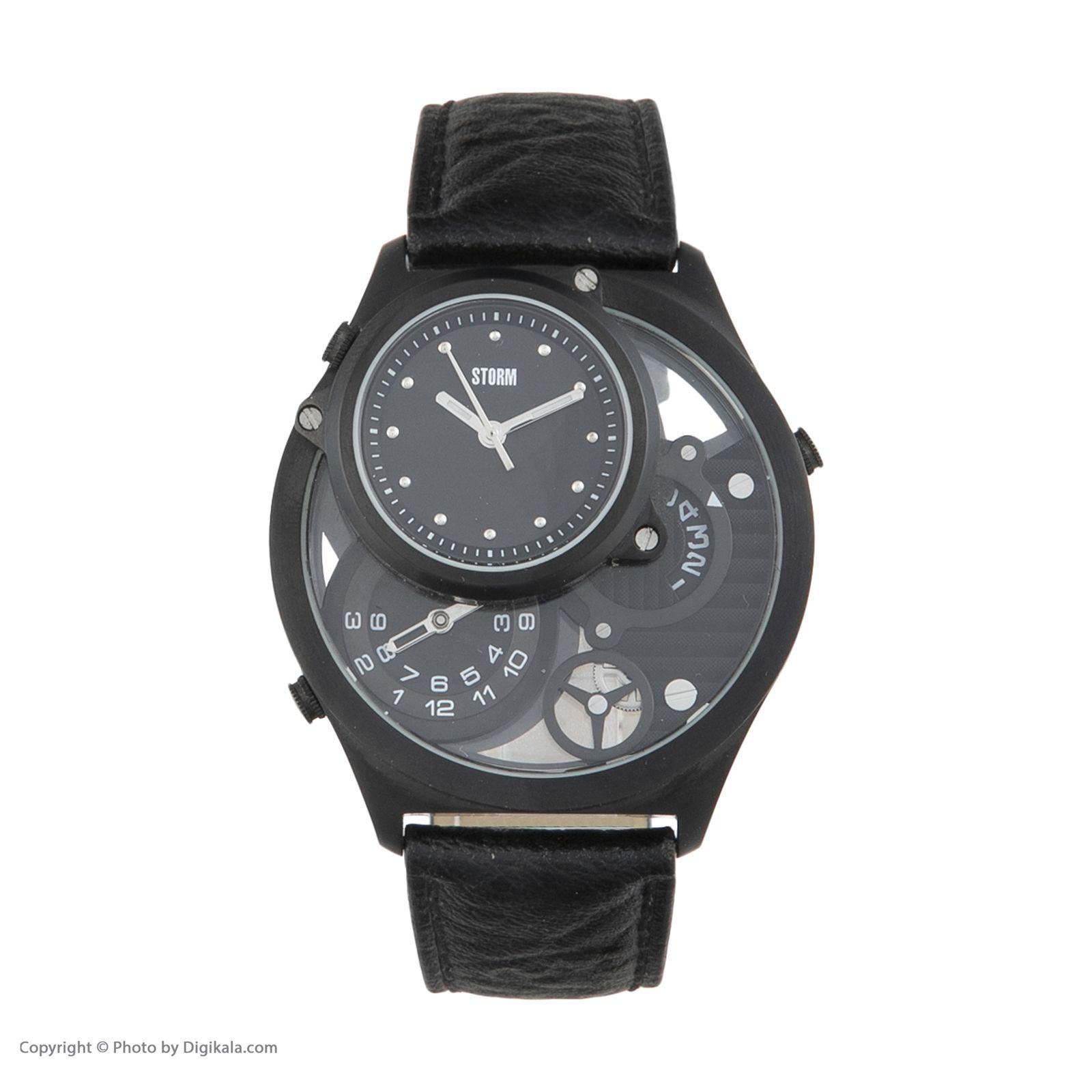 ساعت مچی عقربه ای مردانه استورم مدل ST 47144-SL -  - 4