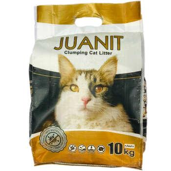 خاک بستر گربه ژوانیت مدل گلد وزن 10 کیلوگرم