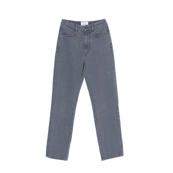 شلوار جین زنانه کوی مدل 137 رنگ روشن خاکستری