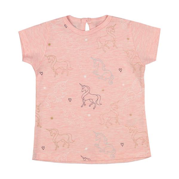 تی شرت دخترانه جیبیجو کد 3040