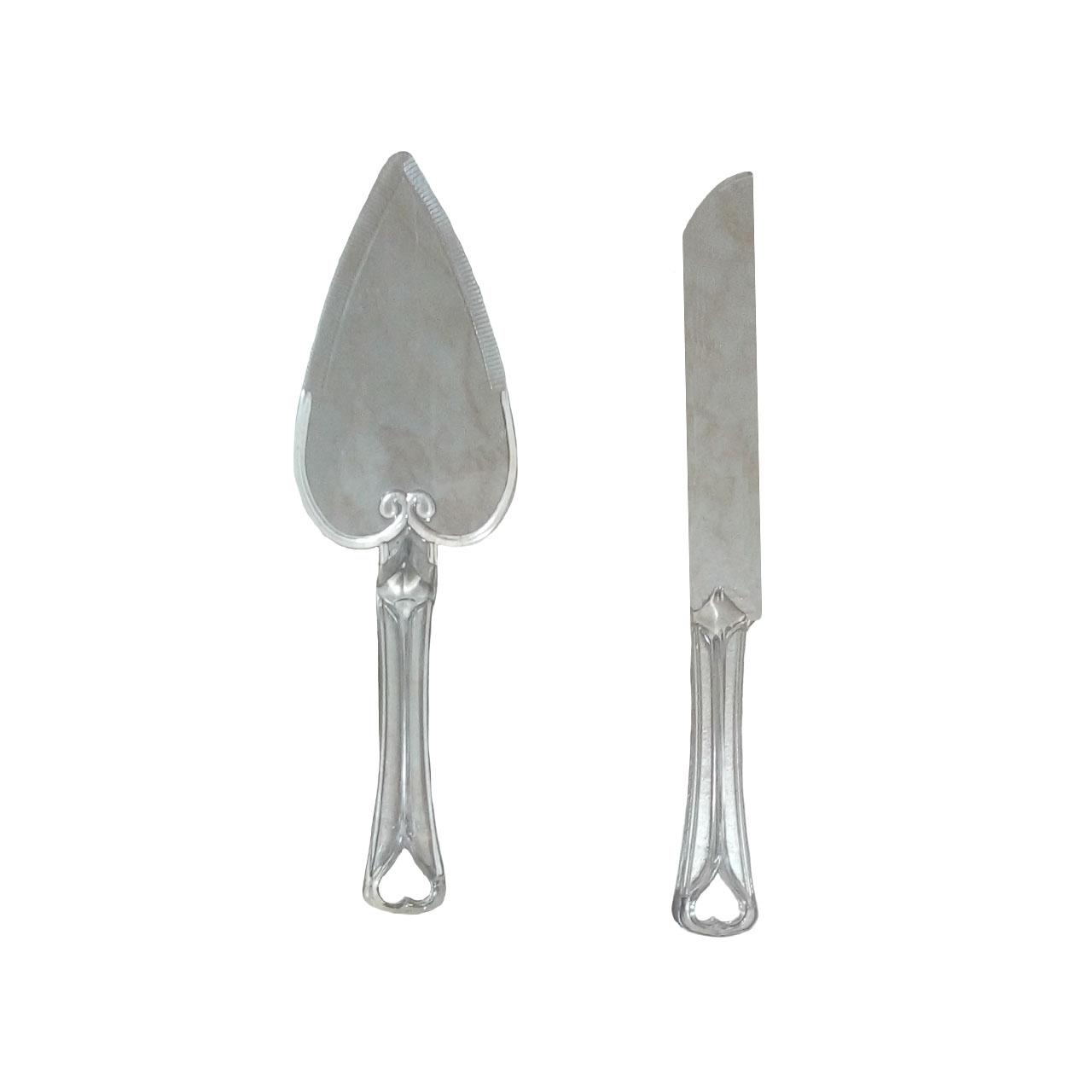 کفگیر و چاقو کیک تولد مدل 0010