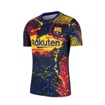 تی شرت ورزشی مردانه مدل بارسلونا Training 22021