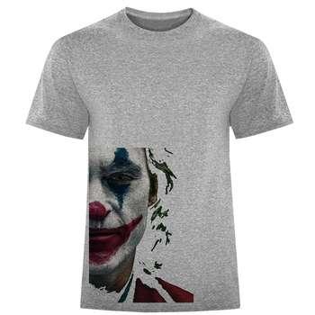 تی شرت آستین کوتاه مردانه طرح جوکر کد W175