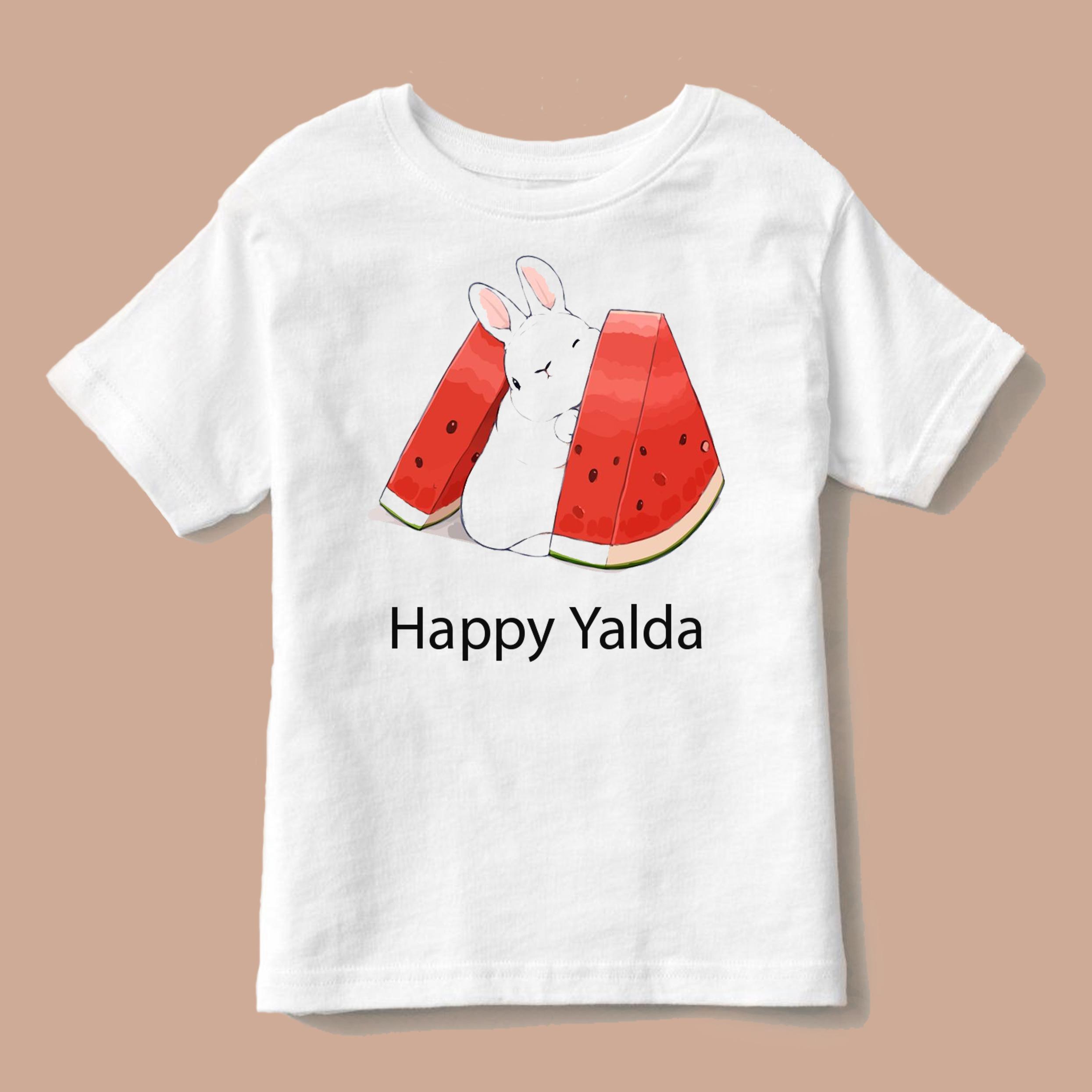 تی شرت بچگانه طرح هندوانه یلدا کد p6