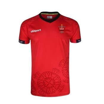 تی شرت ورزشی مردانه آلشپرت مدل پرسپولیس Home2021