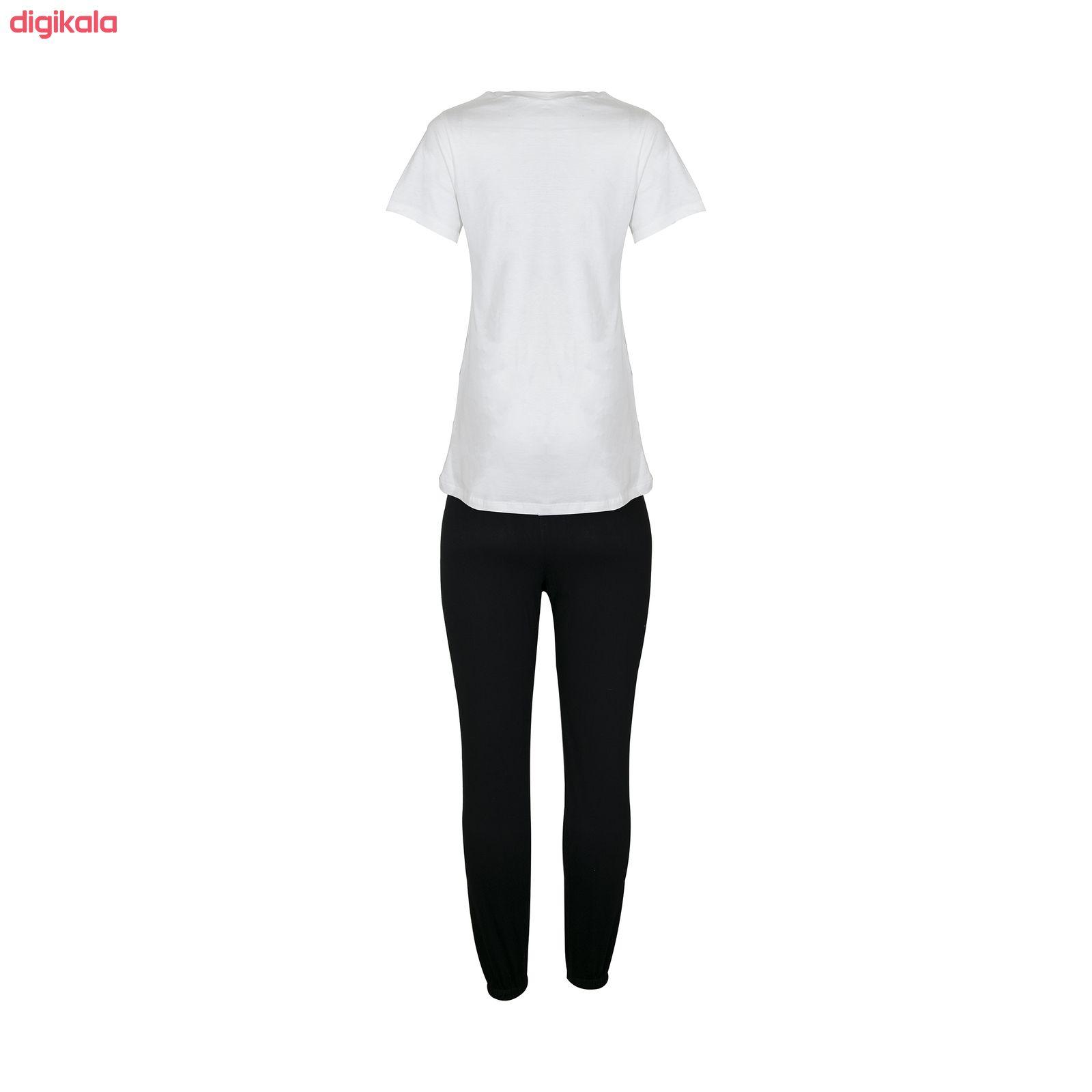 ست تی شرت و شلوار ورزشی زنانه کد M 80 main 1 1