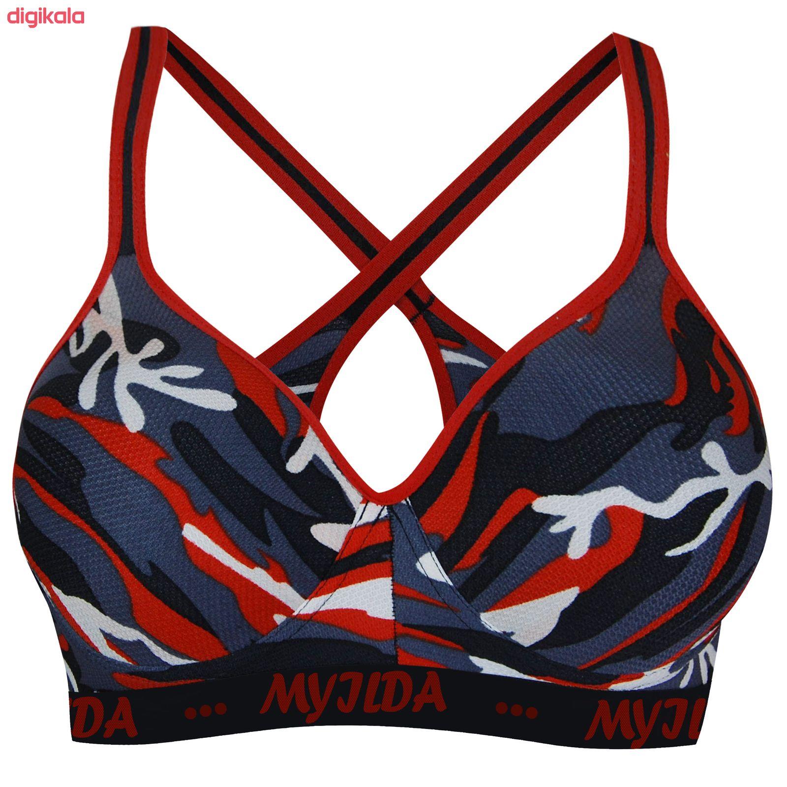 نیم تنه ورزشی زنانه ماییلدا مدل 3532-1 main 1 1