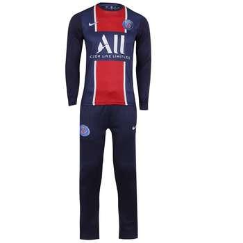 ست تی شرت و شلوار ورزشی مردانه طرح تیم پاریس سن ژرمن مدل 2021