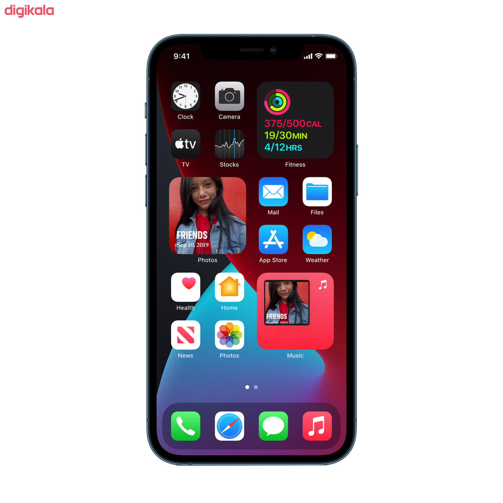 گوشی موبایل اپل مدل iPhone 12 Pro A2408 دو سیم کارت ظرفیت 128 گیگابایت_0
