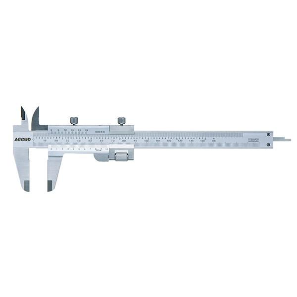 کولیس آکاد مدل 11-005-125 گستره 130-0 میلی متر