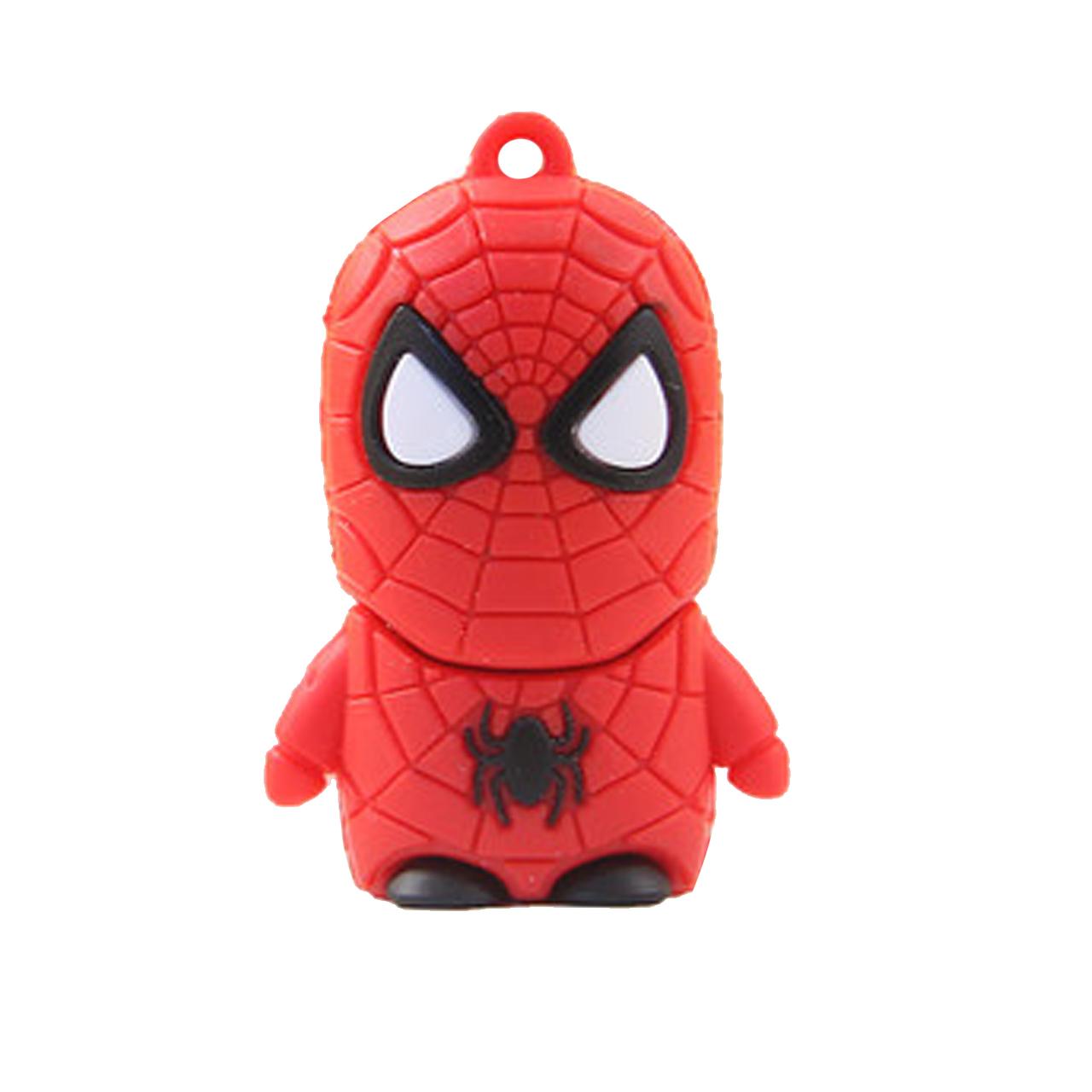 بررسی و خرید [با تخفیف]                                     فلش مموری طرح Spiderman مدل DPL1164-U3 ظرفیت 64 گیگابایت                             اورجینال