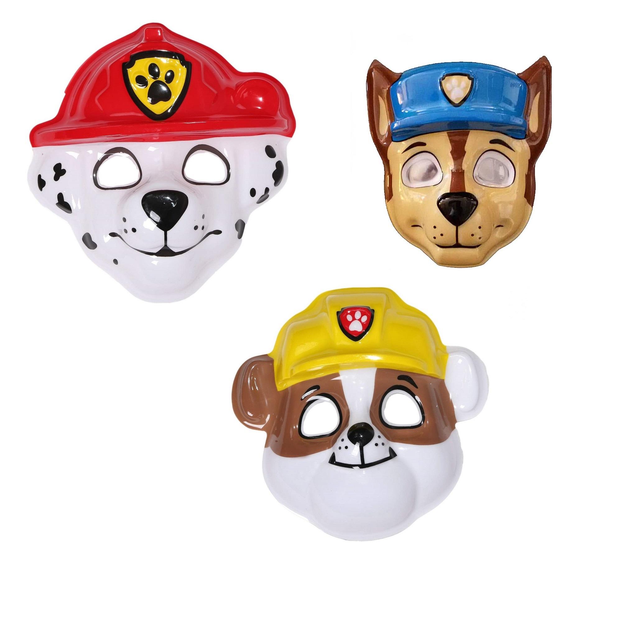 ماسک کودک طرح سگ نگهبان بسته 3 عددی