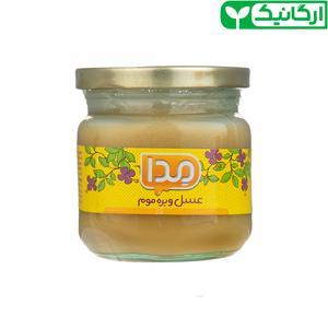 عسل و بره موم ارگانیک مدا - 250 گرم