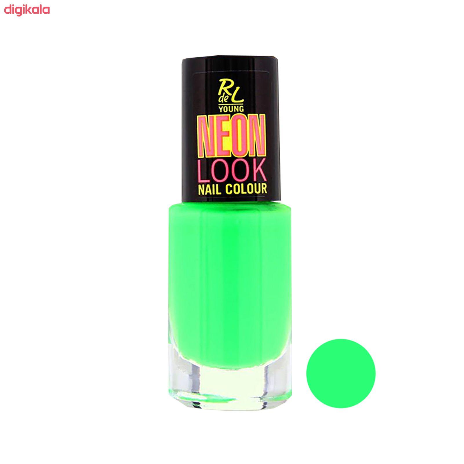 خرید اینترنتی با تخفیف ویژه لاک ناخن ریوال د یانگ مدل Neon Look شماره 04