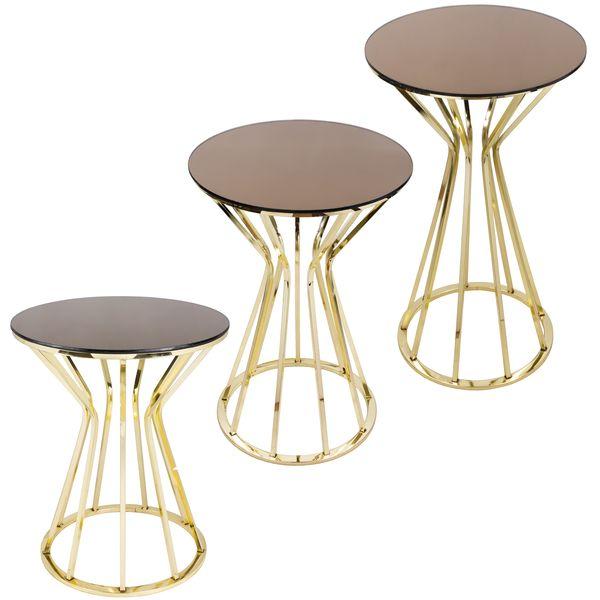 میز عسلی مدل 016 مجموعه 3 عددی