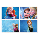پوستر طرح فروزن کد A-2231-Frozen مجموعه 4 عددی