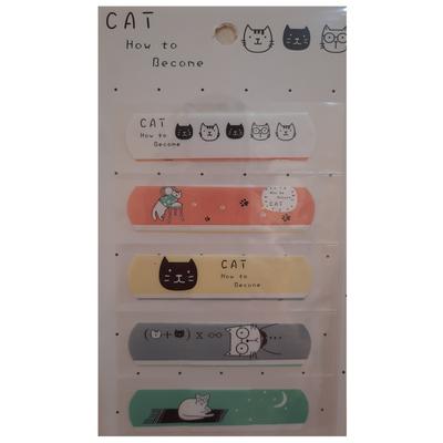 چسب زخم طرح گربه کد S-2 بسته 5 عددی