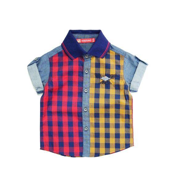 پیراهن آستین کوتاه پسرانه کیدزپلنت مدل 2679S-51