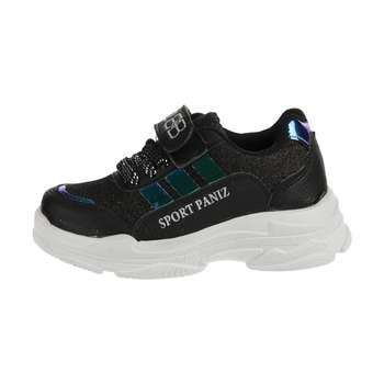 کفش پیاده روی دخترانه ملی مدل 84497212 رنگ مشکی