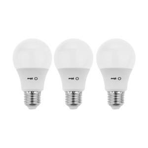 لامپ ال ای دی 9 وات باوند مدل A60-3 پایه E27 بسته 3 عددی