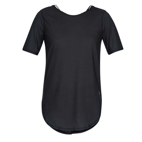 تی شرت آستین کوتاه ورزشی زنانه آندر آرمور مدل 1324141-001
