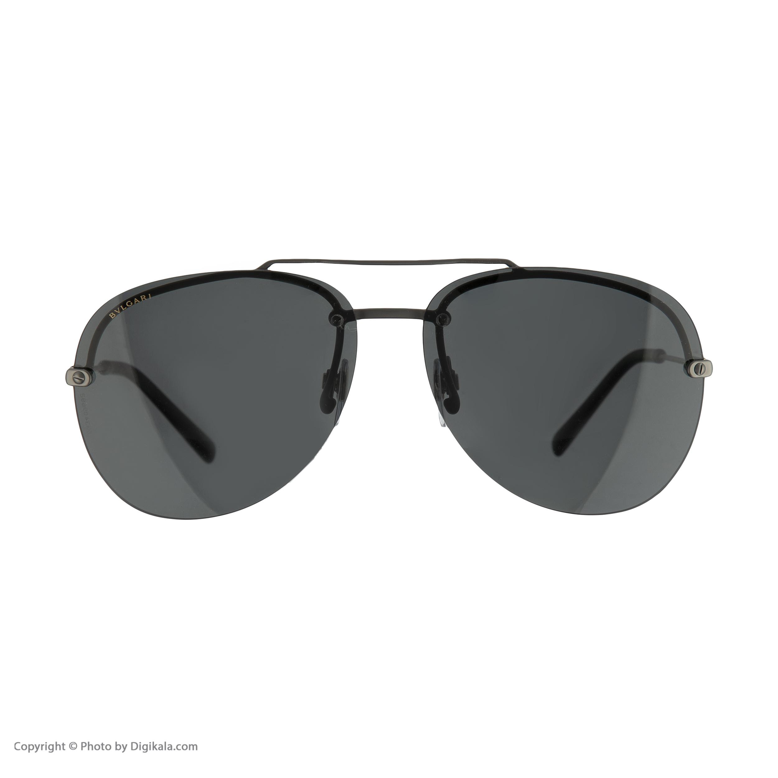 عینک آفتابی مردانه بولگاری مدل BV5044S 19581 -  - 4