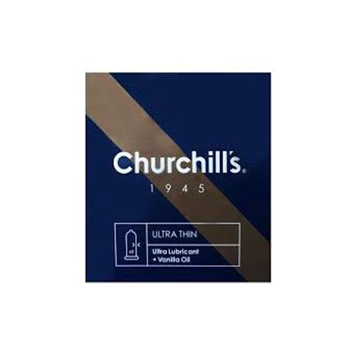 کاندوم چرچیلز مدل خیلی نازک مجموعه 2 عددی
