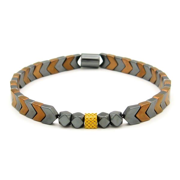 دستبند طلا 18 عیار مانچو کد bfg214