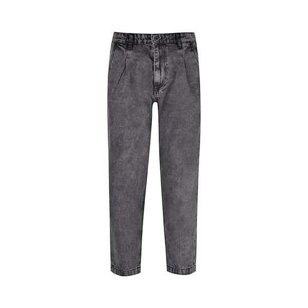 شلوار جین مردانه بادی اسپینر مدل 2552 کد 1 رنگ ذغالی