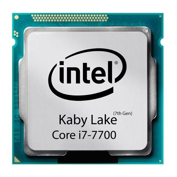 پردازنده مرکزی اینتل سری Kaby Lake مدل Core i7-7700 تری
