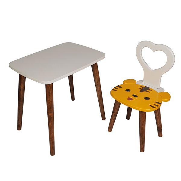 ست میز و صندلی کودک مدل ببر